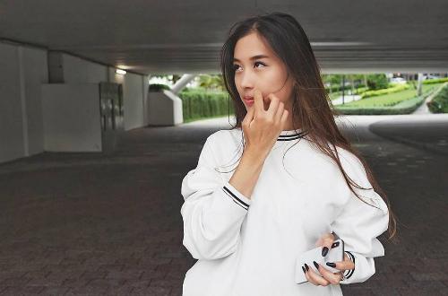 Y Vân- bạn gái của nam diễn viên Huỳnh Anh.