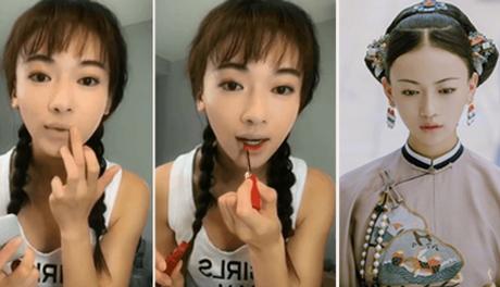 Nữ chính 'Diên Hy Công Lược' tiết lộ cách đánh môi xí muội