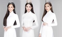 12 Hoa hậu Việt Nam mặc áo dài trắng nữ sinh