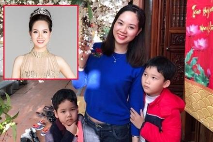 Hoa hậu Mai Phương: 'Tôi nỗ lực chăm sóc gia đình để chồng an tâm công tác'
