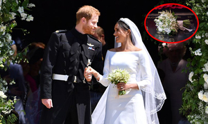 Lý do đằng sau hành động không tung hoa cưới của Meghan