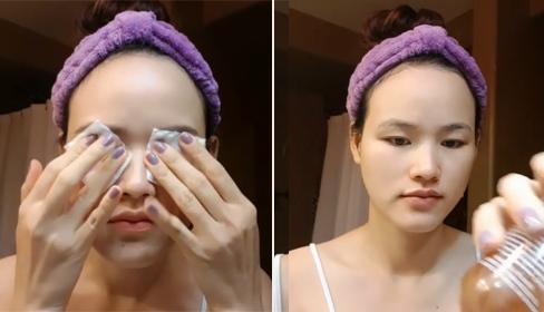 7 bước chăm sóc da 'bất di bất dịch' trước khi đi ngủ của Tuyết Lan