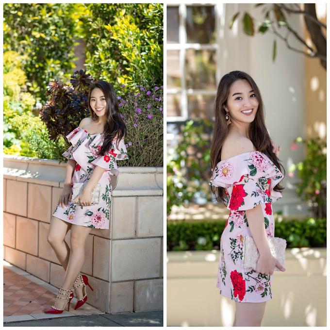 Những cô nàng yêu phong cách thanh lịch thường chọn trang phục đơn sắc để chưng diện. Tuy nhiên, thi thoảng cũng cần thay đổi phong cách bằng việc phối trang phục họa tiết để tránh nhàm chán.