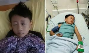 Cậu bé 6 tuổi bị co giật cơ mặt sau khi chơi điện tử 9 tiếng mỗi ngày