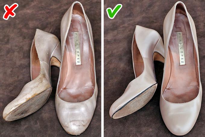 Giày cũ bẩnGiày dép là một phần quan trọng trên  tổng thể set đồ, có khả năng giúp chủ nhân thêm hoàn hảo hoặc phá hỏng toàn bộ phong cách. Bởi vậy, bạn cần chăm sóc đôi giày của mình chu đáo, không nên để nó quá xuống cấp.