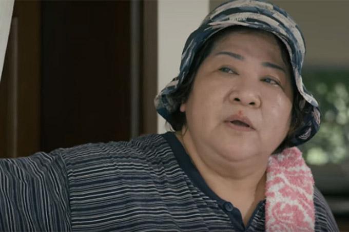 NSƯT Minh Vượng trong vai bà giúp việc Hến trong Cả một đời ân oán.