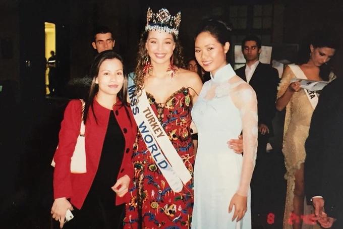 Thành tích thi quốc tế của các Hoa hậu, Á hậu Việt Nam