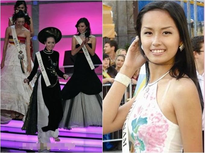 Thành tích thi quốc tế của các Hoa hậu, Á hậu Việt Nam - 2
