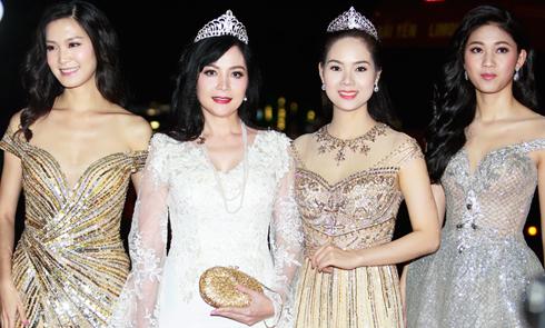 Dàn Hoa hậu, Á hậu Việt Nam các thế hệ khoe sắc trên thảm đỏ