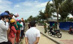 Thi thể nam thanh niên trên biển Đà Nẵng