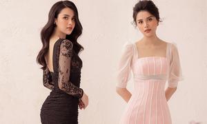 Á hậu Diệu Thuỳ gợi ý các kiểu váy ren đi tiệc