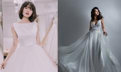 Váy cưới minimalist 'khó lòng rời mắt' của nhà thiết kế Việt