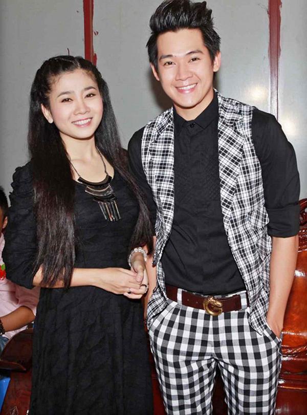 Mai Phương và Phùng Ngọc Huy cùng dự sự kiện cách đây vài năm.