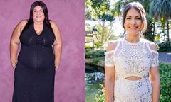 Nàng béo 135 kg 'lột xác' hoàn toàn nhờ kiên trì giảm 66 kg