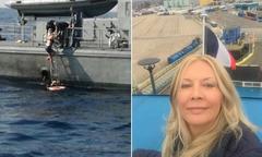 Nữ tiếp viên hàng không sống sót sau 10 tiếng rơi xuống biển