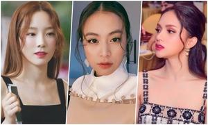 Mỹ nhân Việt, Hàn, Philippines rủ nhau để kiểu tóc mái 'râu gián'