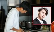 H'Hen Niê vừa nấu ăn vừa nhún nhảy theo nhạc Sơn Tùng M-TP