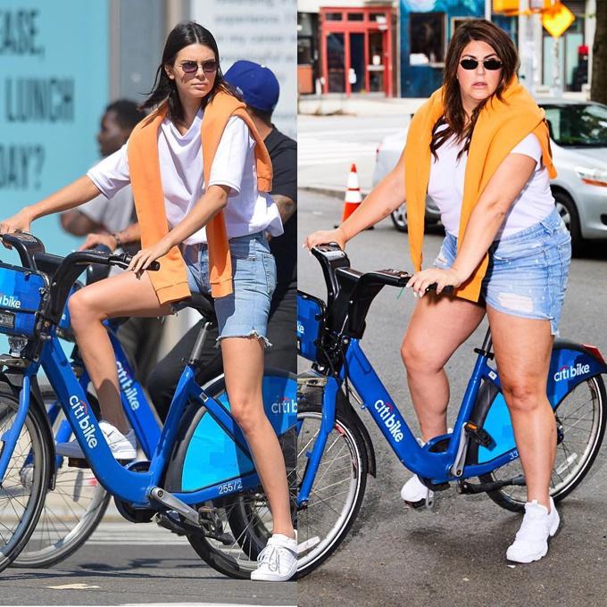 Người phụ nữ U40 chẳng ngại bị đặt lên bàn cân với siêu mẫu thế hệ mới Kendall Jenner.