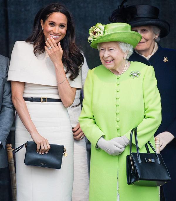 Bóc giá 3 set đồ Meghan Markle mặc khi dự sự kiện cùng Nữ hoàng - 6