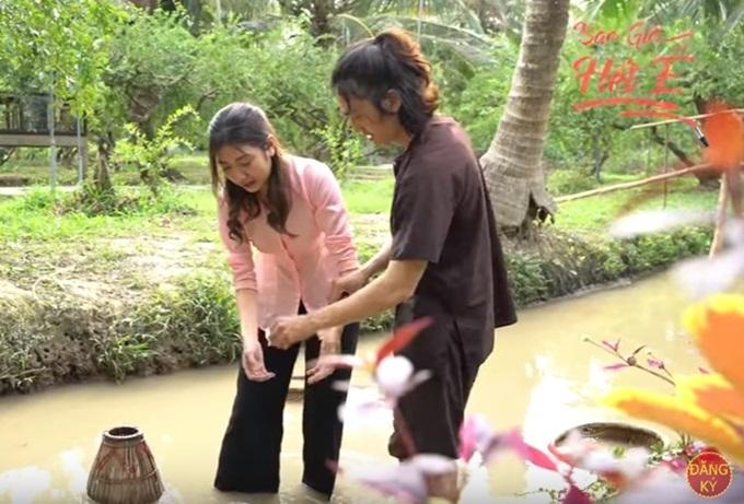 Thúy Vân vẫn nhớ cảm giác sợ hãi khi tự tay mò lươn.