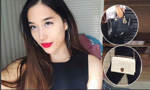 Những chiếc túi hàng hiệu của bạn gái Huỳnh Anh