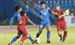Toàn thua ở vòng bảng, tuyển nữ Thái Lan vẫn vào tứ kết Asiad