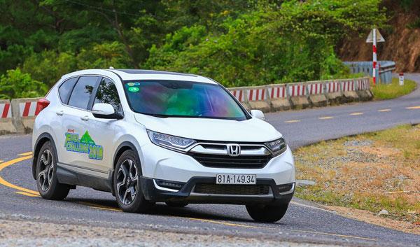 Honda CR-V và Jazz tiết kiệm nhiên liệu ấn tượng