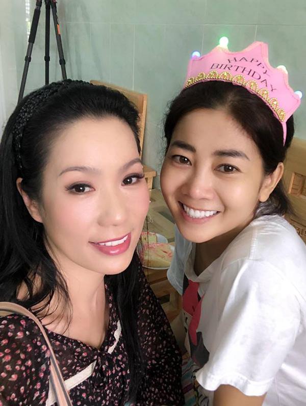 Trịnh Kim Chi mong Mai Phương sẽ chiến thắng bệnh hiểm nghèo, sớm quay lại sân khấu kịch với bạn bè, đồng nghiệp.