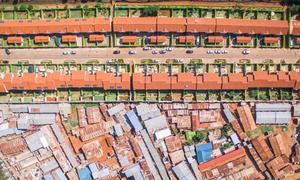 'Bức tường' phân chia giàu nghèo ở các thành phố khắp thế giới