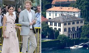 Harry - Meghan đi nghỉ tại siêu biệt thự của vợ chồng Clooney ở Italy