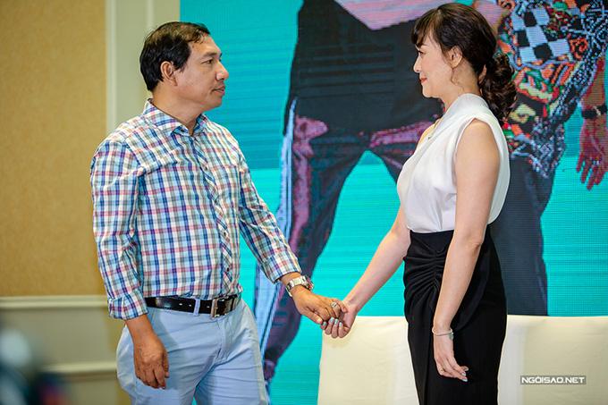 Ngoài NSƯT Chí Trung, đóng cặp cùng với Vân Dung trong phần này còn có Quang Thắng. Nam diễn viên vào vai Thắng, chồng cũ của bà Diễm. Sau25năm biệt tích, ông Thắng đột ngột trở về và mong muốn nhận lại con gái. Sự xuất hiện nàylàm đảo lộn cuộc sống của gia đình bà Diễm, ông Quang (Chí Trung)đồng thời tạo nên nhiều tình huống hài hước cho phim.