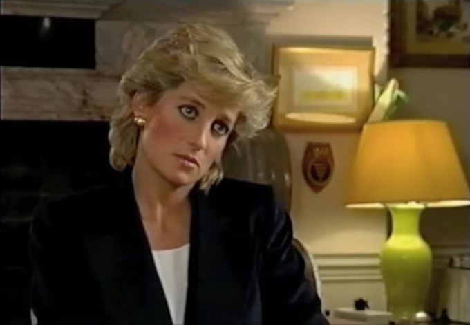 9) She talked frankly with the press. In 1995, Diana secretly gave a very revealing interview to the BBCs Martin Bashir. Though her aides claimed she later regretted it, the princess tried to take control of the media and paparazzi frenzy around her life. It was her first solo interview and was watched by more than 21.5 million people in the United Kingdom.