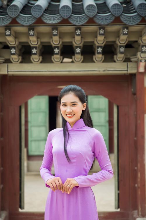 Ứng viên Đỗ Trần Gia Linh lại bày tỏ niềm vui khiMiss Supranational Vietnam 2018 góp phần đưahình ảnh, con người Việt Nam đến gần hơn với bạn bè quốc tế.