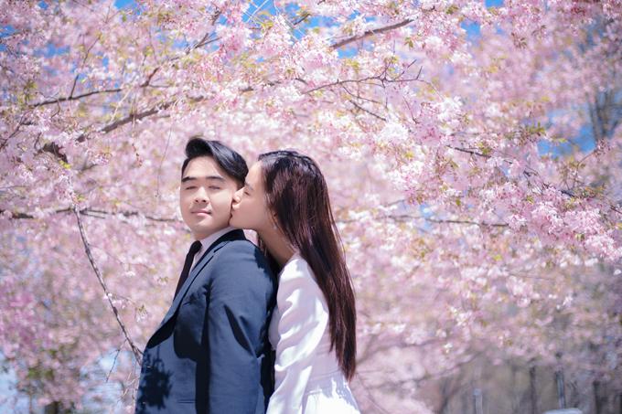 Tuyết Lan và nhiếp ảnh giaDuke M Nguyen cùng xây dựng ý tưởng,lên kế hoạch để thực hiện bộ ảnh này.
