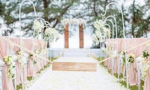 Đám cưới theo phong cách châu Âu cổ điển bên biển Thái Lan