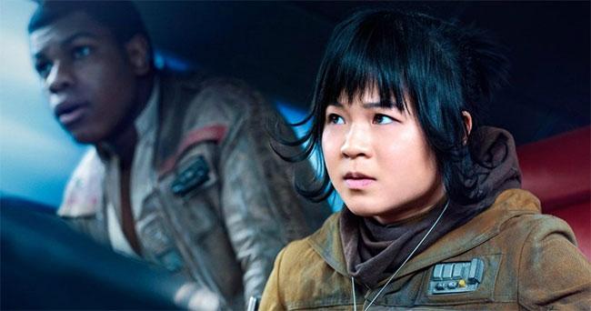 Kelly Marie Trần trong Star Wars: Episode VIII - The Last Jedi.