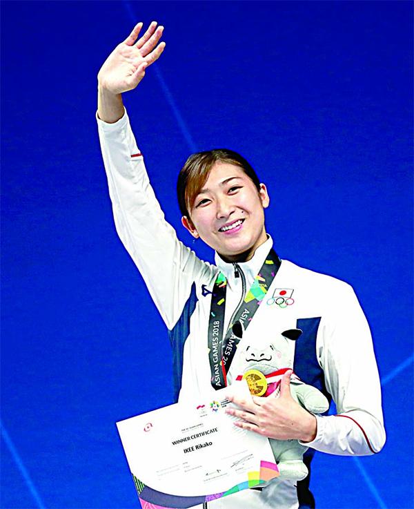 Rikako Ikee đang là VĐV có thành tích ấn tượng nhất ở môn bơi của Asiad 2018. Tính tới chiều 21/8,cô mang về cho Nhật Bản ba chiếc HC vàng và phá ba kỷ lục Asiad.