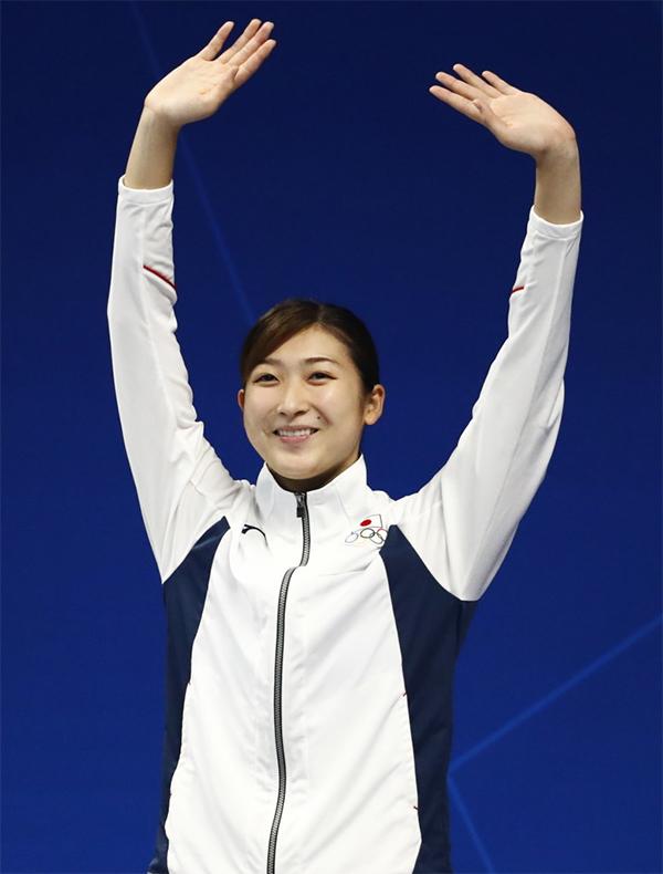 Ở ngày thi đấu đầu tiênhôm 19/8, Rikako cùng đội bơi tiếp sức 4x100mtự do nữ Nhật Bảngiành tấm HC vàngvà phá kỷ lục đại hội với thành tích 3 phút 36 giây 52.