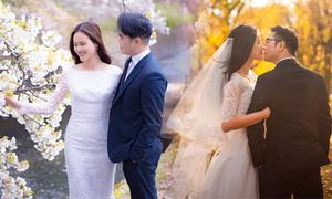 Tuyết Lan mất 2 năm để thực hiện bộ ảnh cưới 4 mùa
