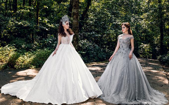 Khi chọn bộ trang phục chính cho ngày trọng đại, cô dâu không chỉ mong muốn đó là chiếc váy khiến mình trở nên lộng lẫy, xinh đẹp mà còn thể hiện cá tính riêng, sự độc đáo. Đó cũng chính là điều mà nhà thiết kế gửi gắm trong từng mẫu váy của bộ sưu tậpThe Permanance (Sự vĩnh cửu), được thiết kế dành riêng cho 12 cung hoàng đạo.