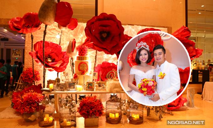 Loạt sao Việt tự tay trang trí cho đám cưới trong mơ - 1