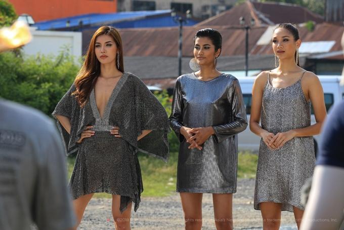 Ngoài Minh Tú,Shikin (giữa) vàMonika (phải) - hai thí sinh các mùa giải trước cũng được ban tổ chức mời trở lại với vai trò chia sẻ kinh nghiệm và hướng dẫn thí sinh vượt qua thử thách chương trình.