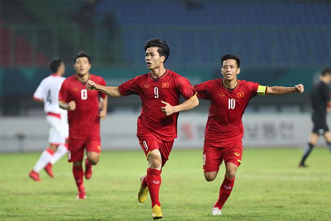 Phải tới phút 88, Việt Nam mới tận dụng được lợi thế hơn người. Công Phượng sau khi vào sân thay người có tình huống dứt điểm trái phá trong vòng cấm mang về chiến thắng 1-0 cho đoàn quân của HLV Park Hang-seo.