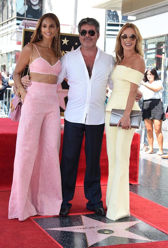 Hai nữ giám khảo xinh đẹp của Britains Got Talent: Alesha Dixon (bên trái) và Amanda Holden.