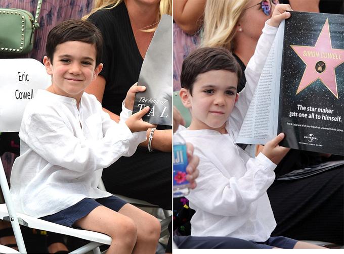 Eric là con trai duy nhất của Simon - ngôi sao đang sở hữu khối tài sản hơn 500 triệu USD. Cậu bé được Simon rất mực yêu chiều và thường đưa tới các show truyền hình cùng bố.