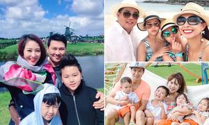 Mùa hè 'ăn chơi có tổ chức' của gia đình sao Việt có con nhỏ
