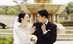 Quang Đại - Helly Tống làm đám cưới trên màn ảnh