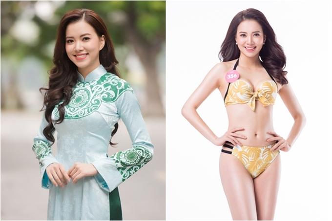 Hà Thanh Vân thuộc nhóm thí sinh lớn tuổi nhất cuộc thi. Cô gái dân tộc Tày sinh năm 1993, cao 1,7m, số đo 81-63-93, làÁ khôi Đại học Ngoại thương Hà Nội 2013.