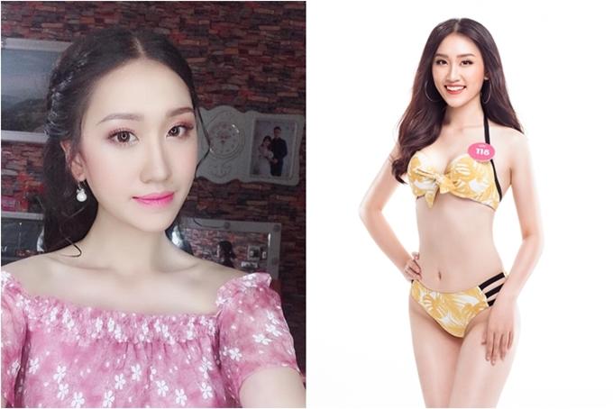 Nguyễn Phương Anh giành vương miện Người đẹp Hạ Long 2018 trước khi thi Hoa hậu Việt Nam.