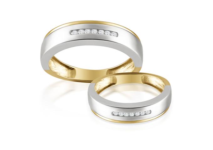 Nhẫn cưới vàng Ballad  Vàng 9K đính đá CZ  Nhẫn nữ: ~3.180.000đ  Nhẫn nam:~ 4.400.000đ  Thông điệp: PRECITA mang đến cho những cặp đôi đang yêu một bản Ballad với giai điệu du dương của vàng 9K kết hợp cùng đá CZ. Cặp nhẫn như một bản Ballad ngọt ngào với thông điệp Tình yêu là một hành trình dài của hai người xa lạ.